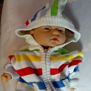 The Children's Place Baby Jacket w/Hood & Zipper